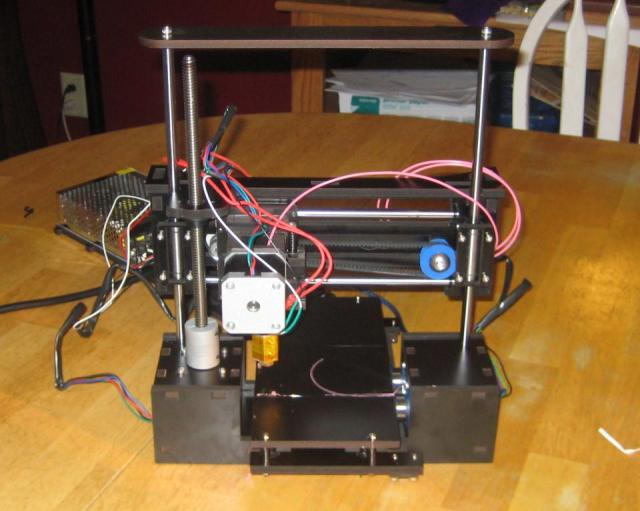 OneUp 3d Printer assembled