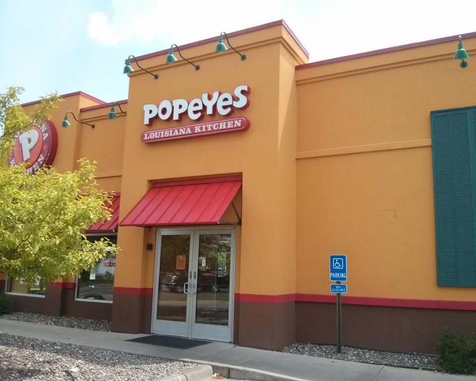 37) Ate at Popeyes #NewThingEveryDay