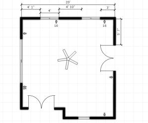 43) Using FLDraw to Make Floor Plan #NewThingEveryDay