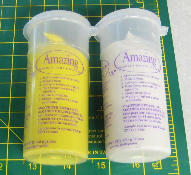 Two Part Silicone Mold Tubes