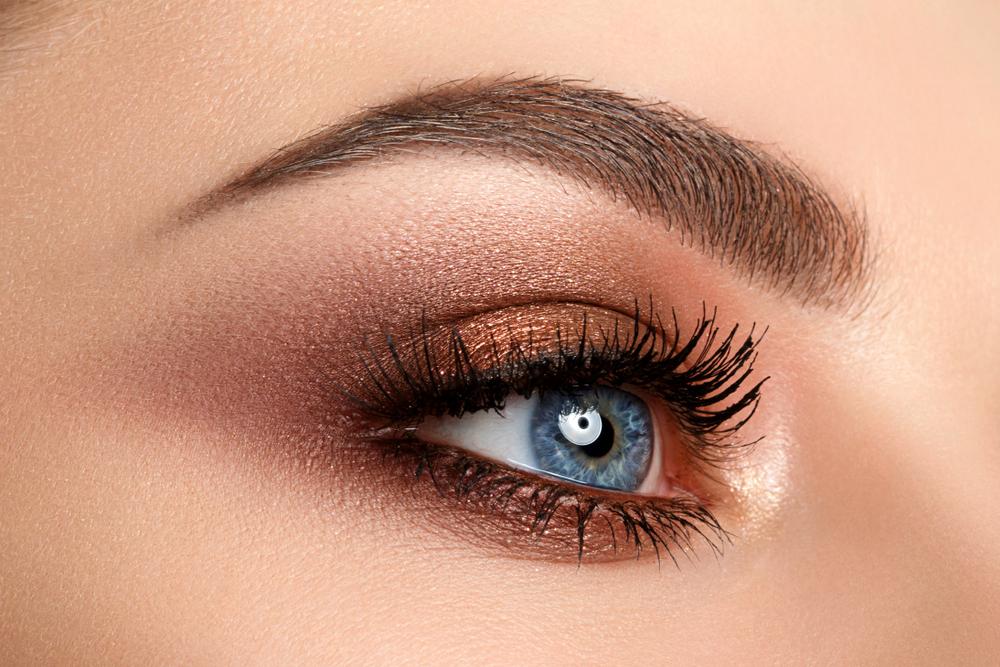 idei de machiaj pentru ochii albastri