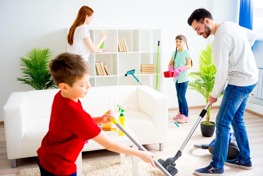 curatenia in casa