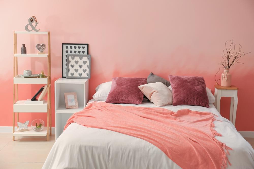 nuante de roz pentru dormitor