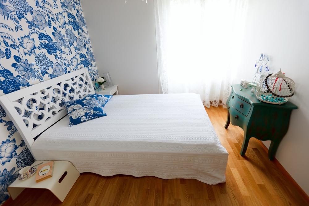 cromatica dormitorului dreptunghiular