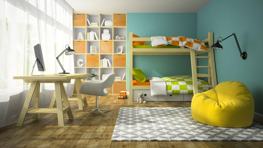 cromatica unui dormitor pentru copii