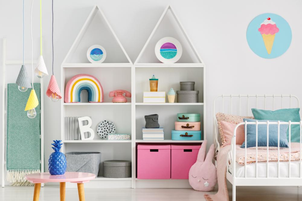 dormitorul pentru copii