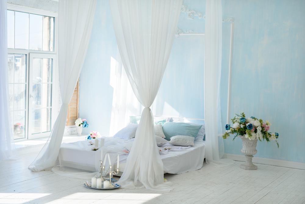 amenajare dormitor romantic
