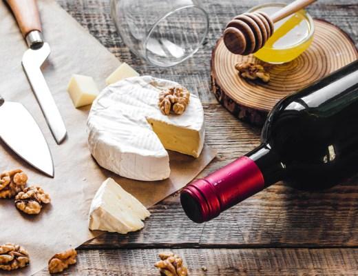 asocierea vinului cu branzeturile