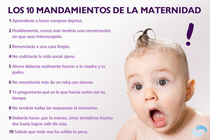 Decálogo de la maternidad