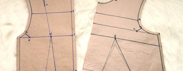 Basic bodice block tutorial