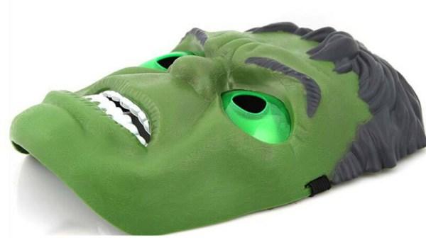 Máscaras de LED hulk