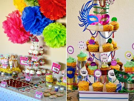 mesa_doces Tema Carnaval