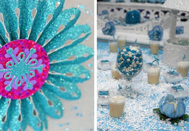 glitter Festa Frozen