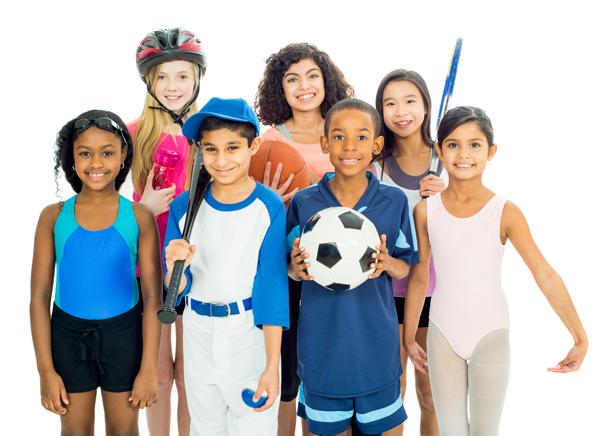 crianças que praticam esportes são mais felizes
