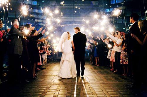 firework-wedding