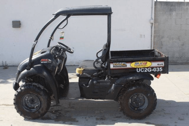 Used 2016 KAWASAKI MULE 610XC 4X4 CART – NEW TOP for sale