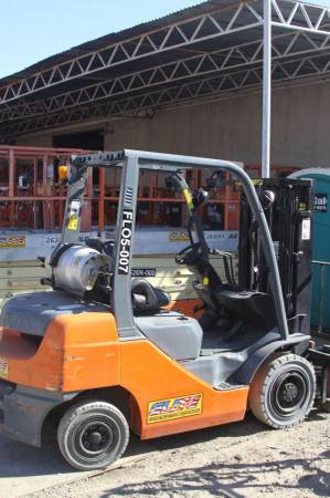 used WAREHOUSE FORKLIFT - FDU25 for sale