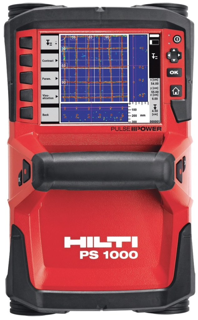 Elite Now Has the Hilti PS 1000 X-scan Concrete GPR System available to rent