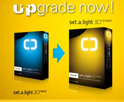 Upgrade to set.a.light 3D STUDIO available!