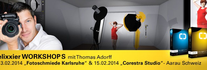 Workshops über set.a.light 3D mit Thomas Adorff
