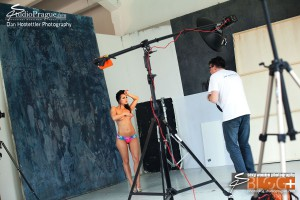 'Fast Glam' Behind The Scenes - Glamour Photography - 008