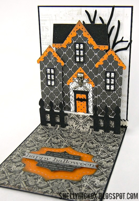 shelly hickox pop it ups haunted house