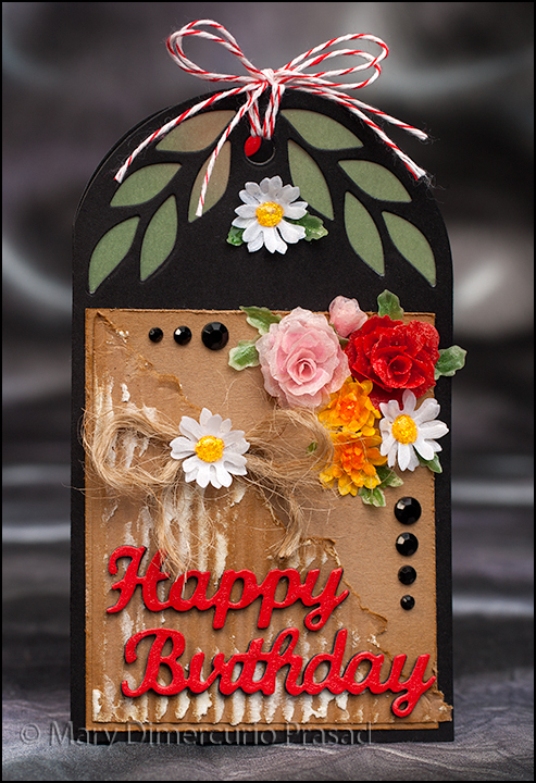 Flower Bday Card Front