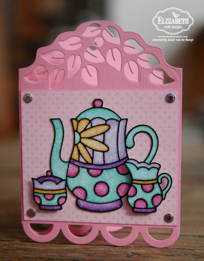 Teapot tag card