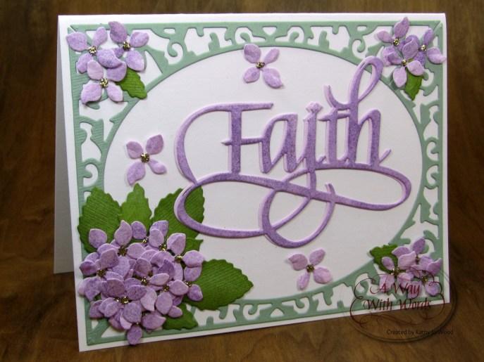Elizabeth Craft Designs Suzanne Cannon Way with words Faith 1