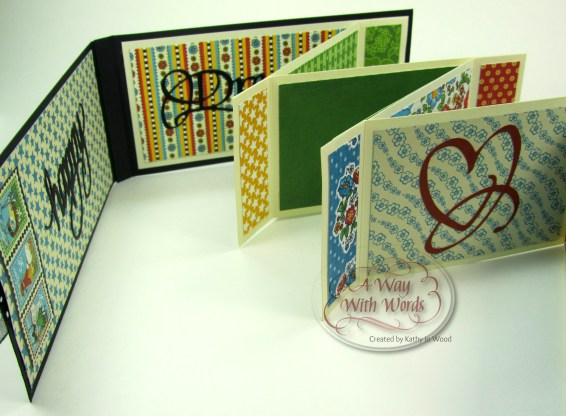 Elizabeth Craft Designs Suzanne Cannon Summer Graphic 45 mini album summer Mother Goose Kathy Jo Wood 11