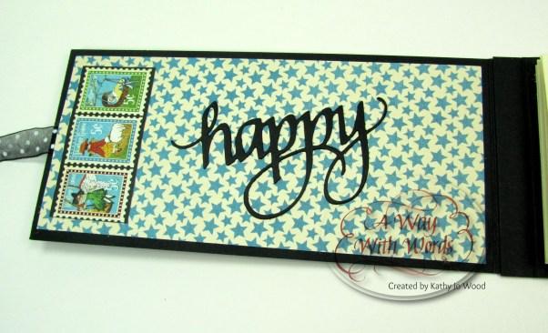 Elizabeth Craft Designs Suzanne Cannon Summer Graphic 45 mini album summer Mother Goose Kathy Jo Wood 5