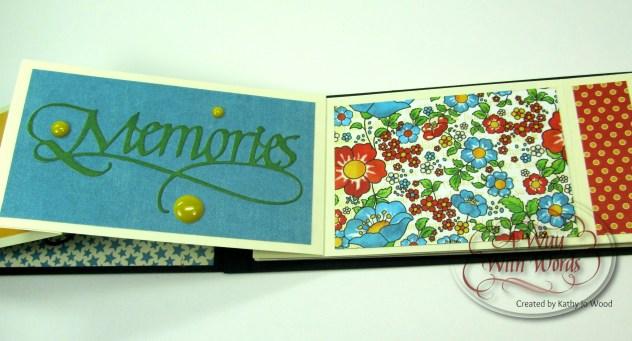 Elizabeth Craft Designs Suzanne Cannon Summer Graphic 45 mini album summer Mother Goose Kathy Jo Wood 7