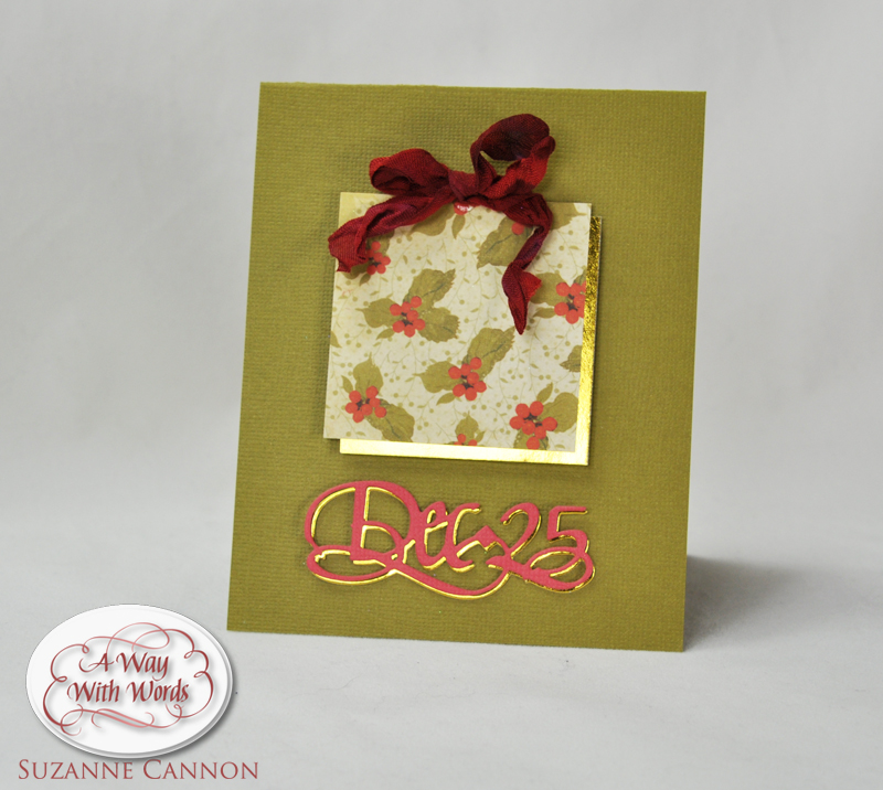 Dec.25 Gift Card by Suzanne Cannon