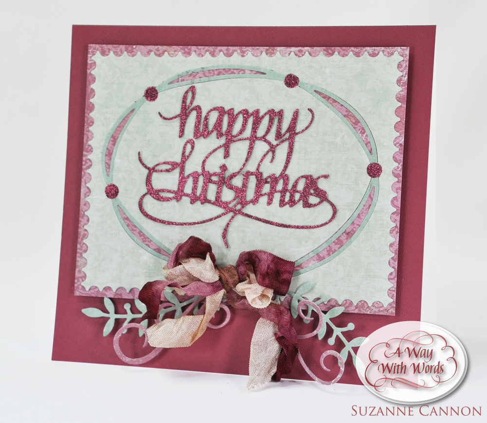 Happy Christmas Card by Suzanne Cannon