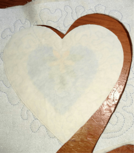 Sewing with Die Cuts - Heart Ornament Sachets 4