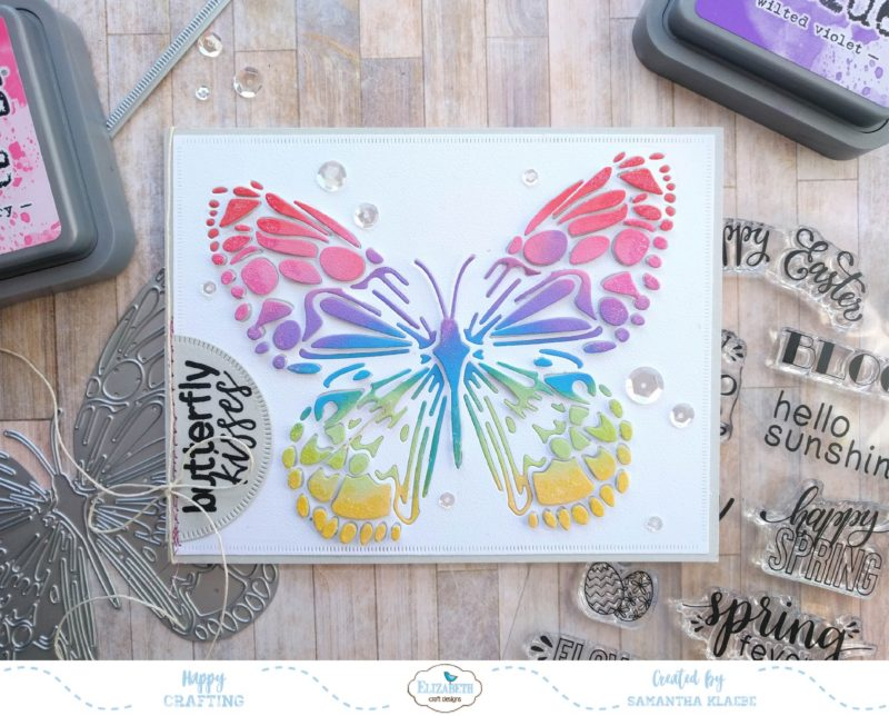 Butterfly Kisses Elizabeth Craft Designs