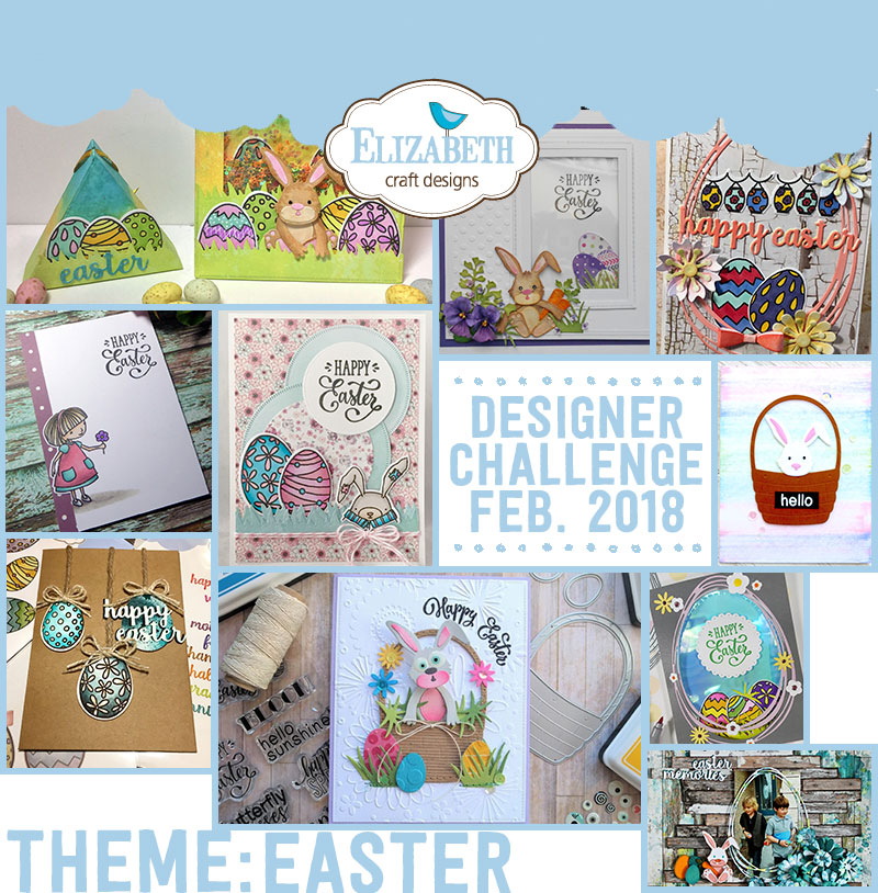 Elizabeth Craft Designs Designer Challenge February 2018