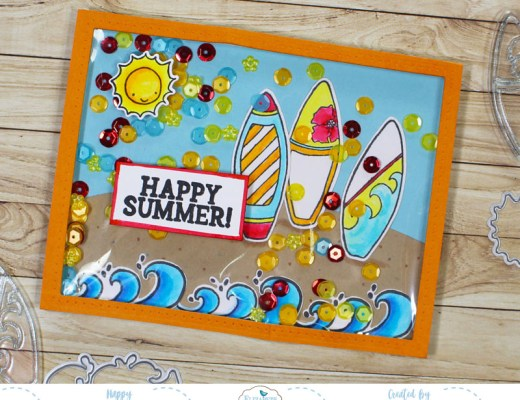 Fun In The Sun Shaker Card