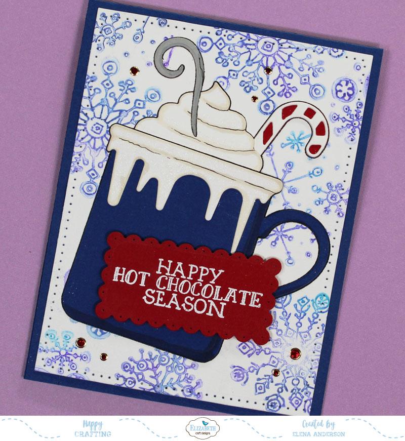Whimsical Happy Hot Chocolate Season Card 2
