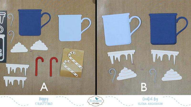 Whimsical Happy Hot Chocolate Season Cards - Step 3