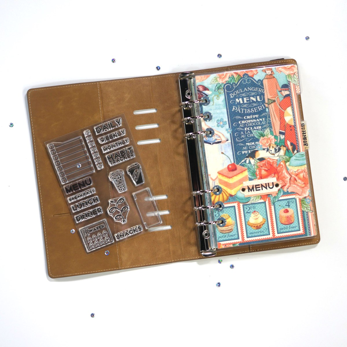 Technique Friday –– Laminated Planner Page