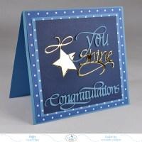 You Shine Graduation Card