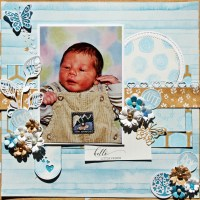 Sweet Little Prince –– Scrapbooking With Baby Photos