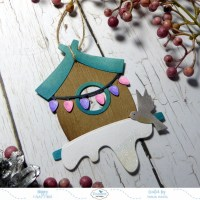 DIY Birdhouse Ornament!