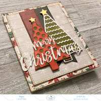 How To Create A Christmas Card Using Planner Essentials Dies