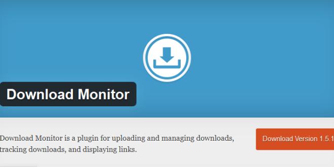التعريب الكامل لإضافة وردبريس Download monitor