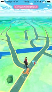 Kartenübersicht in Pokemon GO!