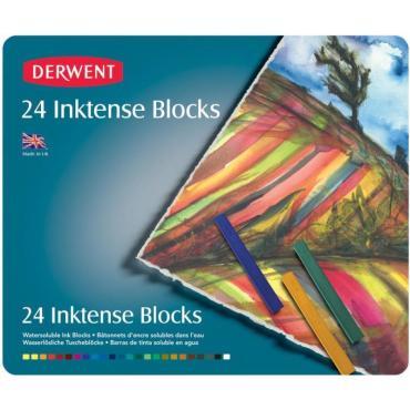Derwent Inktense Block Set, 24pc - 5028252301992