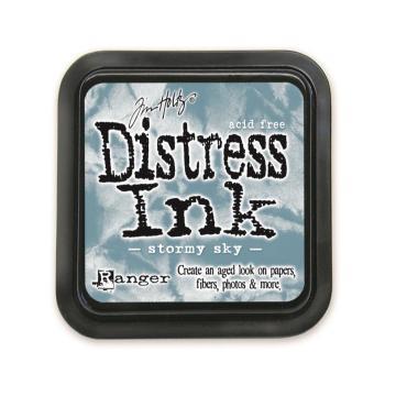 Ranger Distress Ink Pad, Stormy Sky - 789541027171