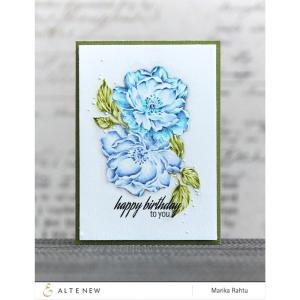 Altenew Clear Stamps, Beautiful Day -